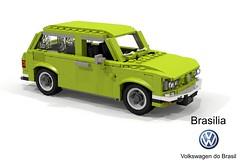 Volkswagen do Brasil Brasilia (lego911) Tags: vw volkswagen brazil brasil brasilia do 1973 south america hatch hatchback 3door 3dr auto car moc model miniland lego lego911 ldd render cad povray classic 1970s boxer pancake beetle foitsop