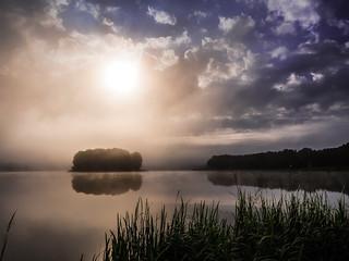 Summer misty morning - Sielpia.