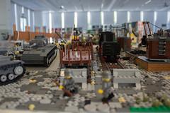 Rear view (kr1minal) Tags: lego wwii worldwar train moc model diorama special german soldier soldiers soldati nazi br23 d236 locomotive trainwagon treno modellismo brickmania