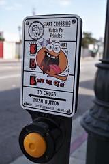 Sticker Art - DTLA !