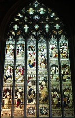 [64567] St Denys, Sleaford : North Transept Window (Budby) Tags: sleaford lincolnshire church window stainedglass