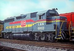 L&N GP40-2 6602 (Chuck Zeiler) Tags: ln gp402 6602 railroad emd locomotive nashville train chuckzeiler chz