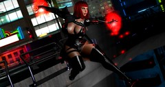 On fire! (Jeny Olivieri) Tags: gag cyberpunk barbie slink black japan cyber london freya fashion doll selfie pvc lover nude brazil punk belleza comiccon latex bishbox mermaid españa firestorm asia submission pink nierautomata cosplay edit skirt roleplay slut life heels leather game photoshop whore outfit lesbian amazing sexy secondlife rpg europe second wow usa uk love girlfriend girl spain pc mac florida