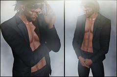 Signature Suit Tailor (black) (Skip Staheli *10 YEARS SL PHOTOGRAPHER*) Tags: signature raphdirval mesh suit classy classic skipstaheli secondlife sl fashion guy raw virtualworld