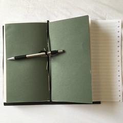 Bookbinding - 08 - Midori Inner (basswulf) Tags: ipadpro unmodified 11 image:ratio=11 square permissions:licence=c 20180804 201808 3024x3024 oxfordsummerschool bookbinding book crafts byjane