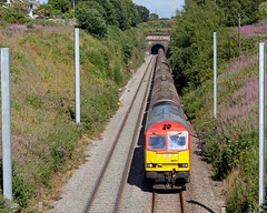 Four Poster (Richie B.) Tags: 6b33 severn tunnel caldicot procor brush traction mirrlees class 60 60015