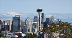 Seattle Skyline (leuntje) Tags: seattle washington usa spaceneedle skyline kerrypark