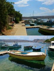(Babette VM) Tags: croatia croatie kroatie kroatia hvartska hvarska europe trip vacation girls girltrip car roadtrip road love green sea city collage bridge