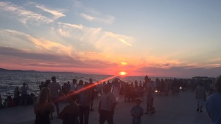 Zadar, zalazak - Zadar, the sunset