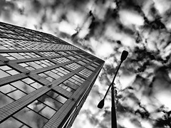 dramatic sky (Eggii) Tags: sky lamp clouds architecture building
