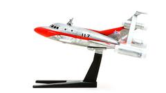 宇宙ビートル - Space VTOL (mr.beaver) Tags: mrbeaver panasonic g7 vivitar 70210mm bandai mechacollectionultramanno05 strobist plastic model kits ultraman