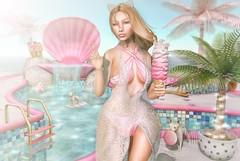Poolside (Bishybaby) Tags: asteroidbox collabor88 halfdeer tresbeau doux mermaidcove astralia schadenfreude catwa slink mermaid