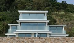 New beachfront house - St. Aubin (Monceau) Tags: new architecture building beachfront house staubin jersey glass