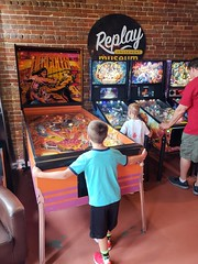 Replay Amusement Museum (heytampa) Tags: conner hey replay museum tarponsprings fl florida pinball paxton aerosmith hercules arcade