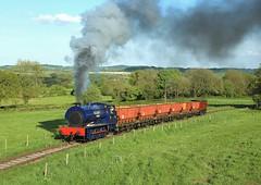 NCB No 7, Dilhorne, 13 May 2018 (Mr Joseph Bloggs) Tags: foxfield railway railroad bahn steam 7 dilhorne train treno emrps east midlands photographic society