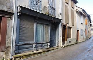 Castillon en Couserans, la rue principale