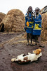 people zoo (rick.onorato) Tags: africa ethiopia omo valley tribes tribal mursi children dog