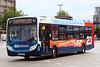 GX58 GNJ, Portsmouth Harbour, June 23rd 2017 (Southsea_Matt) Tags: gx58gnj 27562 route23 alexanderdennis enviro300 adl e300 portsmouthharbour portsmouth england unitedkingdom hampshire june 2017 summer canon 80d stagecoach southdown bus omnibus vehicle transport thehard