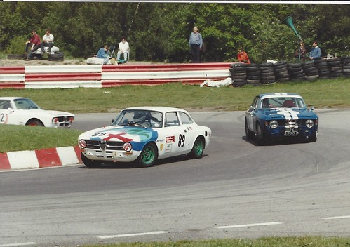 Classic Alfa Race at Mallory