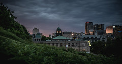 Night of Montreal (Photo Alan) Tags: night street streetphotography city cityscape cityofmontreal nightcity cloud clouds building buildingcomplex buildingstructure lights light trees canada montreal
