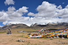 Landscape on the road from Lhasa to Lake Namtso (3) (Prof. Mortel) Tags: tibet lake namtso