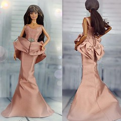 Mattel Barbie Juicy Couture OOAK Gown (Regina&Galiana) Tags: fashionroyalty integrity toys mattel barbie doll fr2 fr3 elyse juicy couture gown ooak for sale