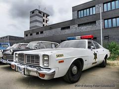 "Dodge Monaco ""Hazzard County Patrol Car"", 1977 (linie305) Tags: mülheim germany deutschland alte dreherei altedrehereiyoung und oldtimerfestivalindustriedenkmalruhrgebietruhrarearuhr areakohlenpottoldtimertreffcarcarsautoautosautomobilradfahrzeugefahrzeugevehiclesoldtimeroldtimersoldvintageclassiccarshowcarmeetingworldcarsdodgemonacohazzardcountypatrolhazzard county patrol us usa uscar american"