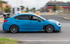 IMG_2216 (PedoJim) Tags: subaru wrx sti varis blue ivy nextmod turbo ej25 wing racecar lachute quebec montreal brembro bakemono track car