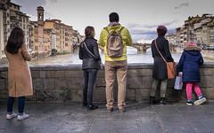 Gazing at the Arno - Florence (medit2) Tags: street florence arno