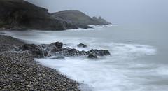 Vanishing Point (MarkWaidson) Tags: mumbles lighthouse fog beach stony stones le hitech formatt
