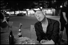 Dreaming (Micke Borg) Tags: xtol kodak 640 hp5 ilford 14 35mm nokton voigtländer m4 leica garlicshots brödernaolsson folkungagatan södermalm söder sverige sweden stockholm