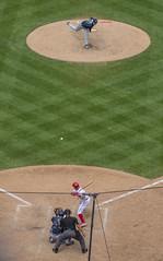 Here's the pitch! (Tim Brown's Pictures) Tags: washingtonnationals baseball majorleague nationalspark baseballstadium sports pastime game washington dc unitedstates
