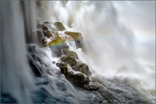 Thundering water