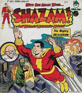 Shazam Record  ( Peter Pan Records 1977 )