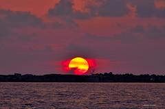 The Sunset (Arcieri Saverio) Tags: sunset sky nikon tramonto tramonti calabria landscapes paesaggi rosso rwd red rouge mare italia diamante cosenza cs