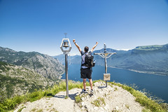 And that's how I roll :) (mystero233) Tags: me myself mystero233 hike lake lagodigarda water hill hills forest tree village italy europe landscape montebestone bestone monte cross bell mountains grass outdoor outside human person lowepro 2018 view top