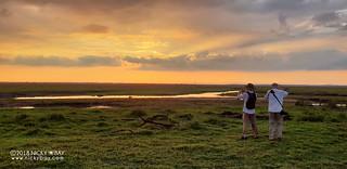 Jeff & Bill @ Gorongosa sunset - 20180528_164745x