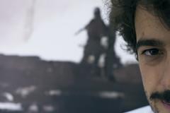 """""""El hombre busca constantemente la alegría en la transcendencia, es decir, en el recuerdo"""" Leopoldo Panero (Paranoico (MDMAfia)) Tags: rostro retrato mirada bigote art artista arte pintura lienzo oleo"""