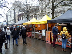 Food market stalls at Manchester (Tony Worrall) Tags: gmr manchester manc city northwest welovethenorth nw update place location uk england north visit area attraction open stream tour country item greatbritain britain english british gb capture buy stock sell sale outside outdoors caught photo shoot shot picture captured market foodie food eat stalls damp eating street streetphotography urban candid people person picturesinthestreet photosofthestreet