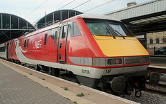 Class 91: 91118 LNER Newcastle Central (emdjt42) Tags: 91118 class91 intercity225 lner newcastlecentral