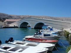 * (Reginald_9) Tags: 2012 august croatia pagisland bridge boats