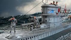Type VIIC U-Boat (WesternOutlaw) Tags: u96 dasboot collectorsshowcase 130 130scale toysoldiers submarine wwii kriegsmarine kriegsmarines