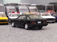 Hatch Black (quicksilver coaches) Tags: nissan skyline tomy tomytec 180 ho 176 oo plastic model