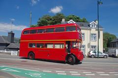 DB1075.  RMC1490, Porthmadog. (Ron Fisher) Tags: bus doubledecker vintagebus classicvehicle vehicle rm routemaster rm1490 490clt porthmadogharbourstation porthmadog gwynedd gogleddcymru cymru northwales wales hunslet125
