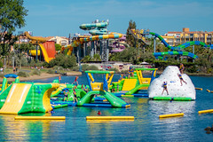 Aquapark & Aqualand Cap D'Agde (MtH79) Tags: capdagde cap dagde france beach port boats nikon d5500 beautiful 1020mm 70300mm fort boat aqualand aquapark lunapark luna park