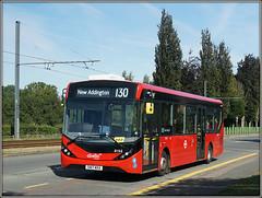Abellio London 8196. (Jason 87030) Tags: 130 route service mmc lodgelane croydon london surrey bus kent vehicle red roadside sone alpha a6000 ilce nex lens tag flickr album 8196 abellio sn17mxa