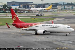 B-1711 | Boeing 737-87L | Shenzhen Airlines