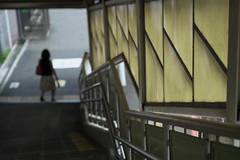 DSCF8110 (tohru_nishimura) Tags: xe1 xf6024 fujifilm tateishi train keisei station tokyo japan