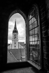 Old Window (Slav.Burn) Tags: window old gothic baroque toruń poland bw pentax art greaterphotographers