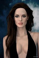 Angelina Jolie new life-size sculpture / mannequin (Terry Minella) Tags: doll schaufensterpuppe schaufensterfigur figur famous celebrity sexy picture movie actress actrice statue sculpture lifelike lifesize rootstein angelinajolie